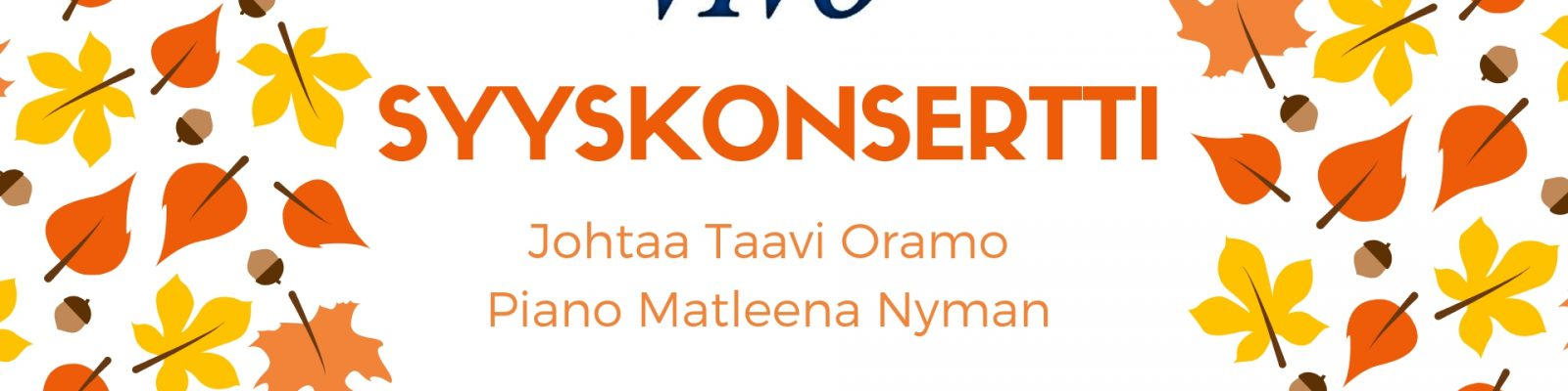 MENNYTTÄ: Syyskonsertti Hyvinkääsalissa 21.10. klo 16